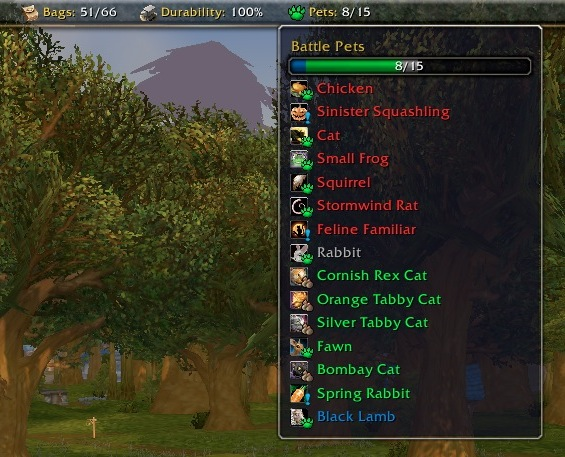 pettracker wow bfa