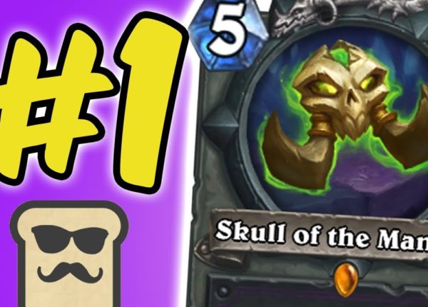 #1 WINRATE DECK feat. SKULL OF THE MAN'ARI | OTK WARLOCK | HEARTHSTONE | DISGUISED TOAST