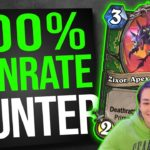 100% WINRATE HUNTER DECK | Hearthstone Ashes of Outland