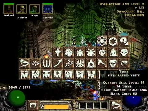 Diablo 2: Lord of Destruction - Army of the Necromancer [LVL 99 SKILLS]