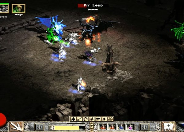 Прохождение Diablo 2: Lord of Destruction - 4 АКТ на Хардкоре, 1 часть
