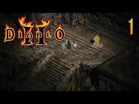 Zagrajmy w Diablo II:Lord of Destruction (Barbarzyńca) #1 - Jaskinia zła.