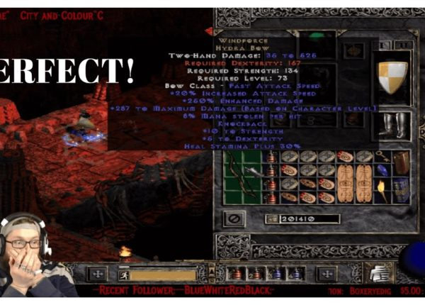 Diablo 2: Lord of Destruction PERFECT WINDFORCE!