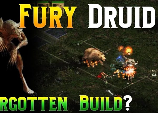 Diablo 2 - Budget Fury Druid Build