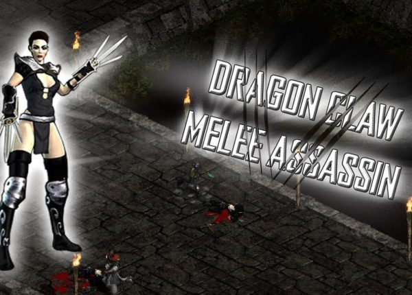 Diablo 2 LoD: Dragon Claw Meleesin