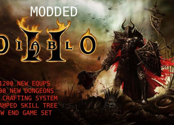 Diablo 2 Lord Of Destruction Enriched ( Update / Mod )  +1200 New Equips +100 Dungeons , etc