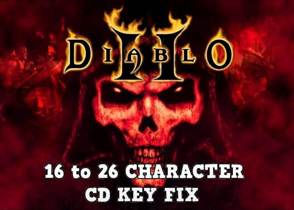 DIABLO 2 CD KEY 16 TO 26 CHARACTERS FIX/SOLUTION