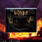 How to play Diablo II LoD on Windows 10 (Windowed Fullscreen)