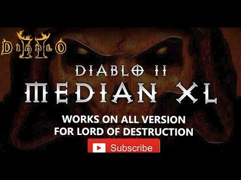 Diablo 2 Median XL mod for Lord Of Destruction ( works for any version )