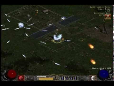 Diablo 2 PvP Frozen Orb Sorceress and Charge Paladin