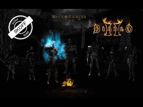 Diablo 2: билд костяной некромант (bone necromancer)