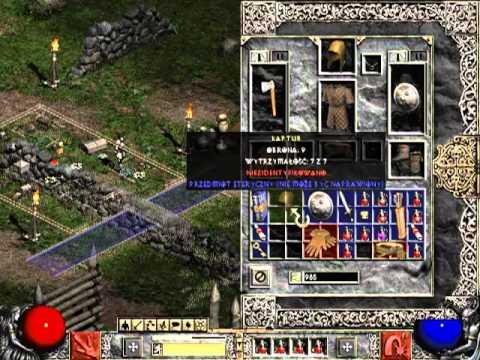 Let's Play Diablo 2 LoD #1 - Siedlisko Zła
