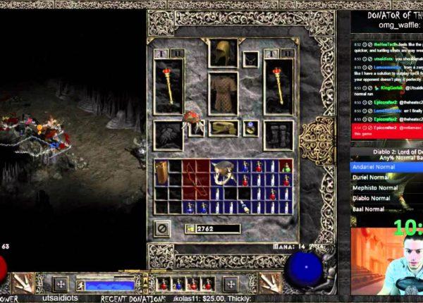 Diablo 2 Barbarian Any% Speedrun World Record! - 2:26:20