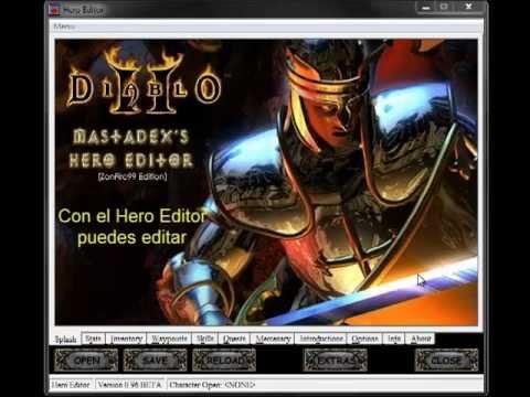 Diablo II LoD: Hero Editor