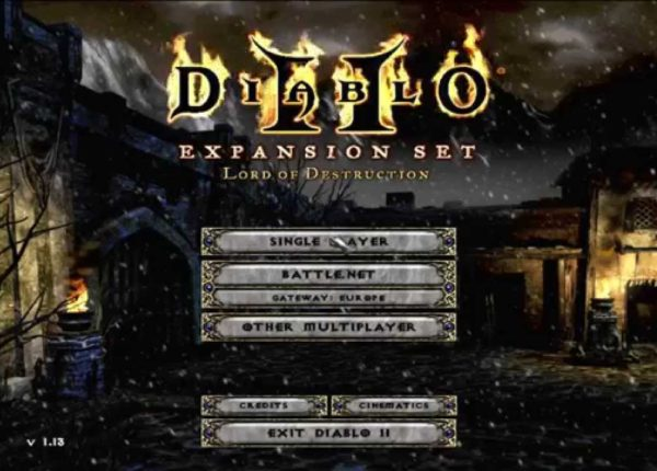 Diablo 2 - Lord of destruction on Windows 8.1