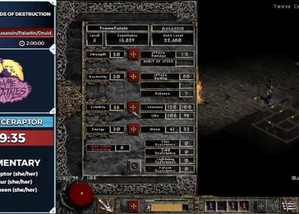 Diablo II: Lords of Destruction by ellieceraptor in 1:59:27  - Frame Fatales 2019