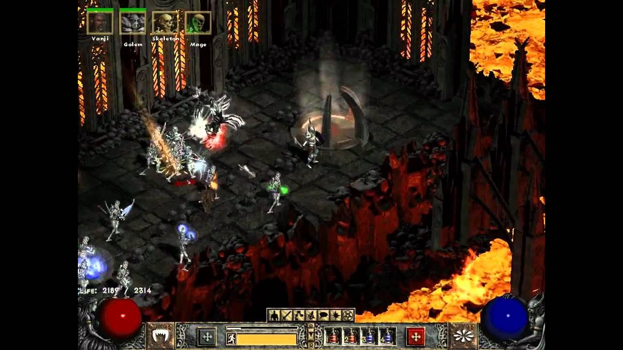 Diablo II Lord of destruction Diablo Fight
