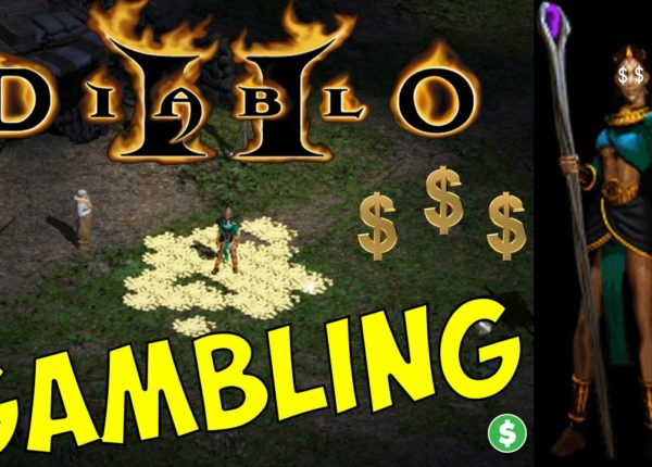 Diablo 2 LoD - Gambling for 30+ millions