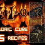 Horadric Cube 5 Top Recipes - Diablo 2 - Xtimus