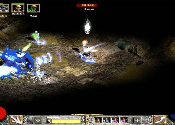 Прохождение Diablo 2: Lord of Destruction - 2 АКТ на Хардкоре - БОСС, 4 часть
