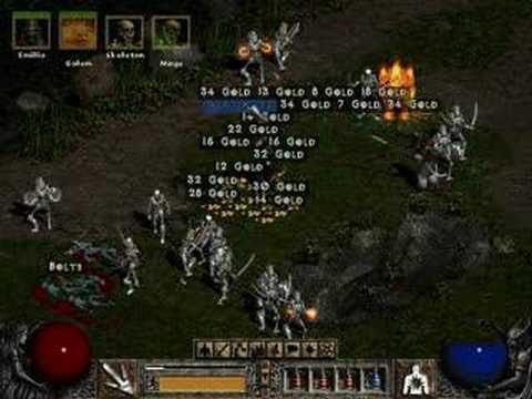 Secret Cow Level on Diablo 2 Lord of Destruction
