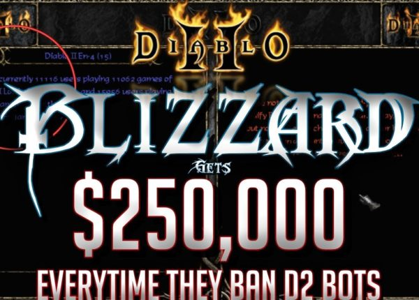 Blizzard Gets $250,000 Everytime They Ban Diablo 2 Bots