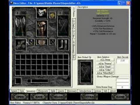 How to make super items for Diablo 2 Lord of Destruction