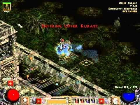 Diablo 2 LoD [NM] прохождение за сорку [часть 13]Меф