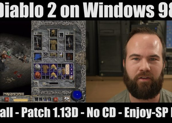 Diablo 2 on windows 98, Installation, LOD, Patch 1.13D, No CD, Enjoy-SP mod
