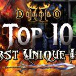 Top 10 Worst Unique Items in Diablo 2