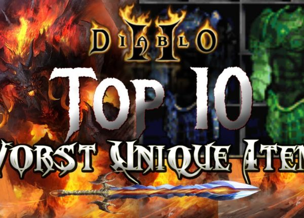 Top 10 Worst Unique Items in Diablo 2