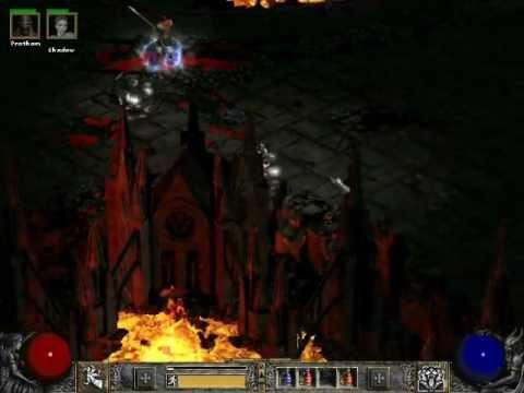 Diablo 2 LoD: Tiger Claw Assassin Gameplay