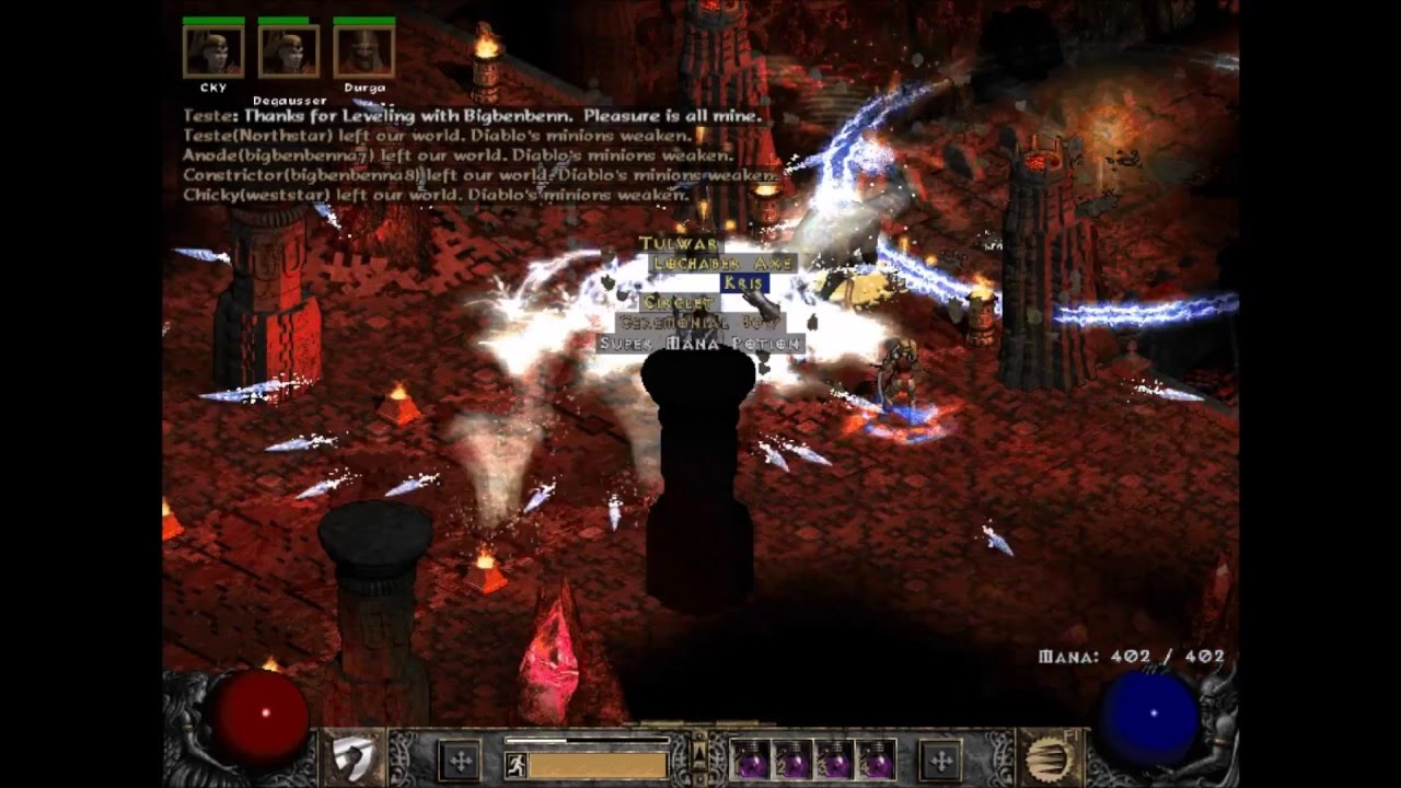 Diablo 2. LOD 1.14 Farming Guide: Why To MF In Full Games