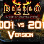 2001 vs 2017 Version - Diablo 2