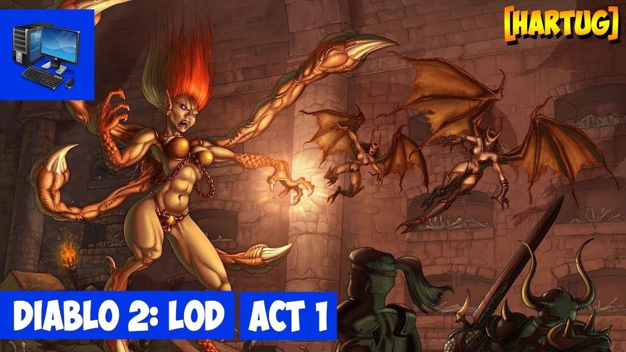 Стрим #349 Diablo 2: LoD ► Сюжетная компания. Акт 1