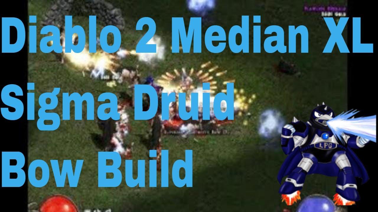 Diablo 2 Median XL Sigma Druid Bow Build