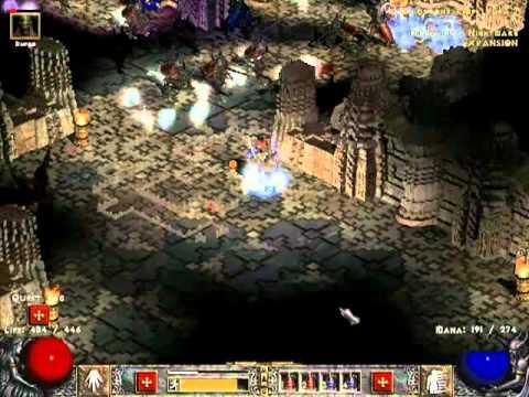 Diablo 2 LoD [NM] прохождение за сорку [часть 16]Баал