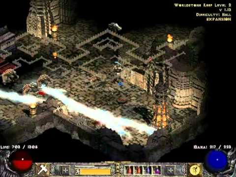 Diablo 2 LoD [H] полное прохождение с кометами [часть 91]