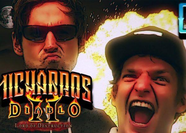 Mein Höllenfeuer gegen Blutrabe | Diablo 2: Lord of Destruction mit den Micha Bros. #02