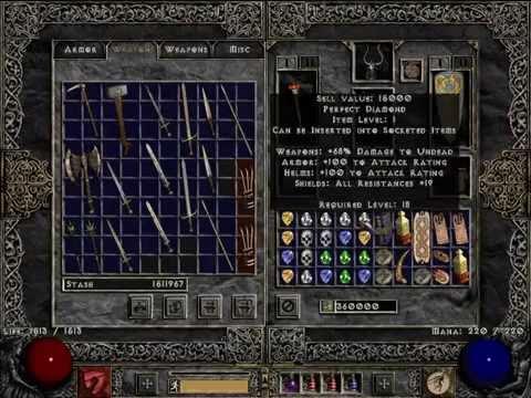 Diablo 2 LoD PlugY Single Player Diablo Clones & Anni Luck