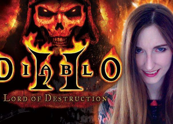 DIABLO 2 LOD 🔥  Walka z Diablo i Harrogath (Akt 4/5) | Czarodziejka