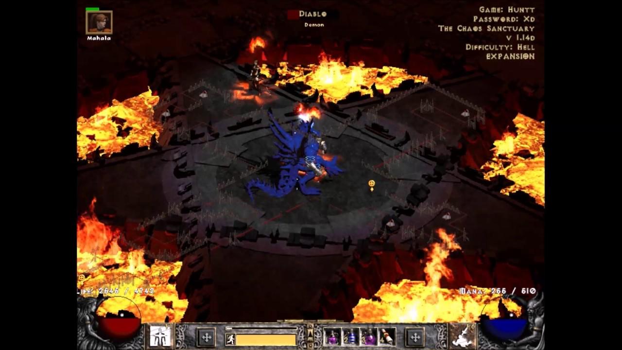 Diablo 2 LoD Berserker Barbarian BossRun