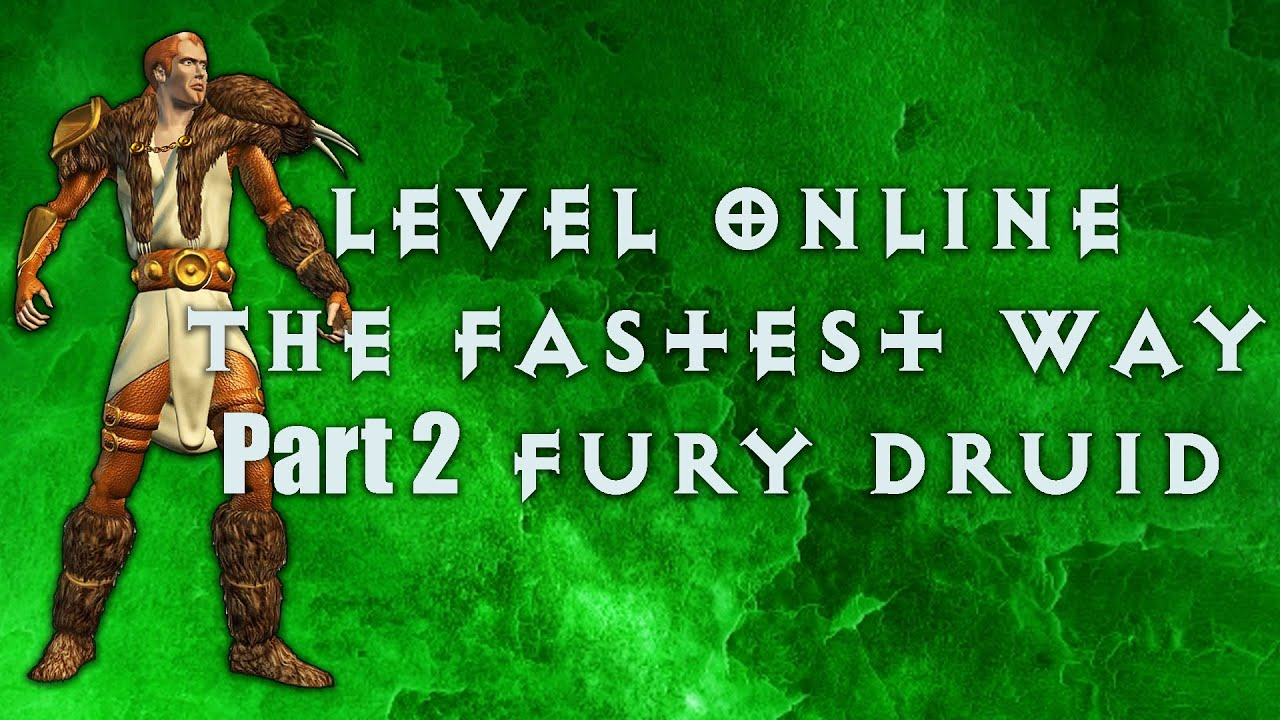 Diablo 2: How to level online the fastest way possible with Grush - Part 2 Fury Druid.