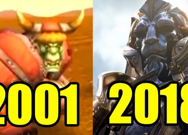 Эволюция World of Warcraft 2001-2018