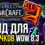 [ГАЙД] ДЛЯ НОВИЧКОВ В WORLD OF WARCRAFT ПАТЧ 8.3 КАК ИГРАТЬ В WOW