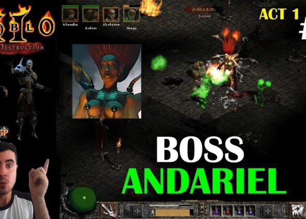 Diablo 2 LoD - BOSS FINAL ACTO 1 ANDARIEL #3