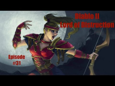 Diablo 2 LOD Amazon Bowazon Walkthrough - Part 31: Kurast Bazaar Sewers, and Khalim's Heart