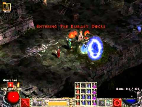 Diablo 2 LoD [H] прохождение за сорку [часть 23]Меф