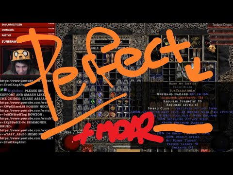 PERFECT HoJ in 15ED BASE + STREAM HIGHLIGHTS! Diablo 2, Path of Diablo.