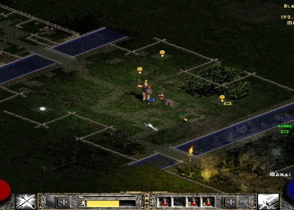 Den of Evil & Blood Raven - Diablo II:  LOD: Median XL - Co-Op 01